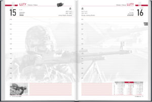 ... a clear and functional military calendar