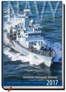 okładka Terminarza Marynarki Wojennej 2017