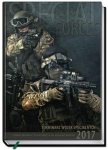 okładka Terminarza Wojsk Specjalnych 2017