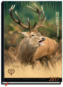 the cover of Hunting Calendar 2017