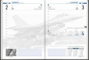 czytelne, lotnicze kalendarium