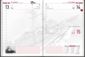 czytelne, wojskowe kalendarium