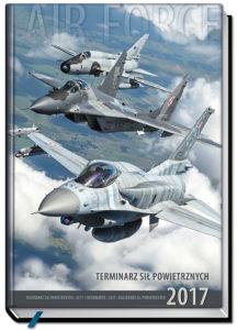 okładka Terminarza Sił Powietrznych 2017