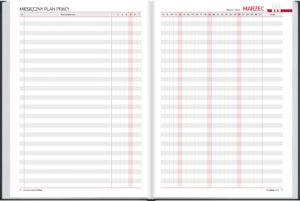 miesięczne plany pracy