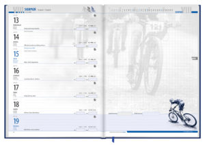 … a clear and functional themed calendar