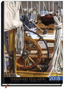 the cover of Sailing Calendar 2018
